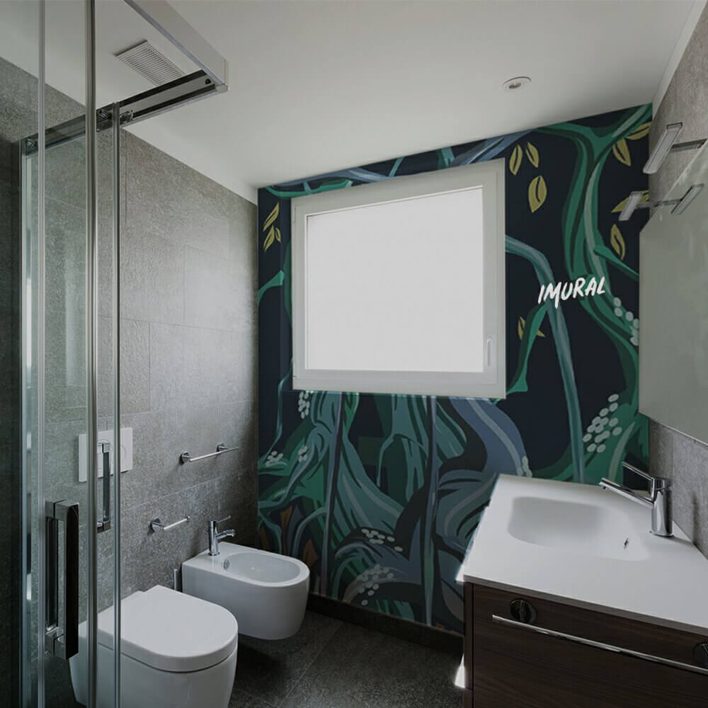 Tropical Touch in The Bathroom
