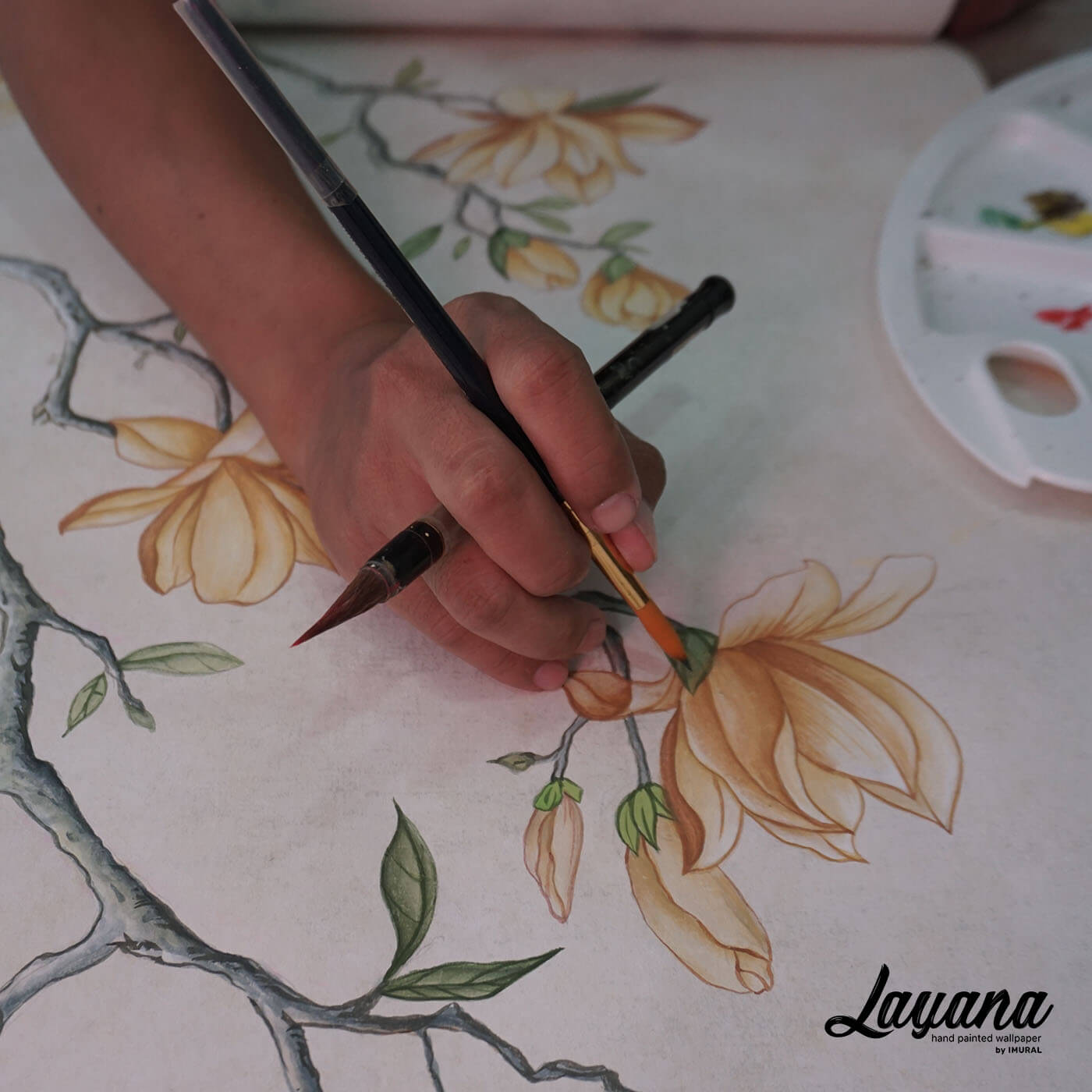 Chinoiserie Painting 12