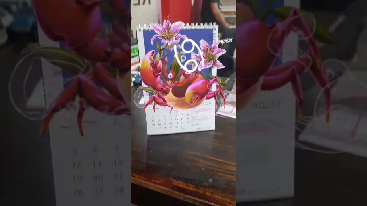 Showreel on Calendar